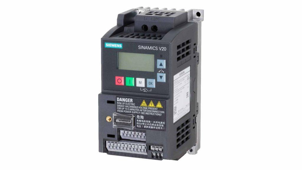 Variadores de Velocidad Siemens SINAMICS V20
