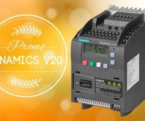 Variadores Sinamics V20 Promoción