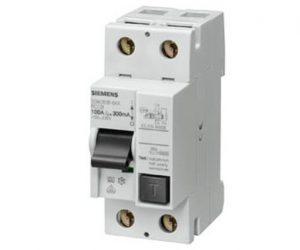 Disyuntor Diferencial Siemens